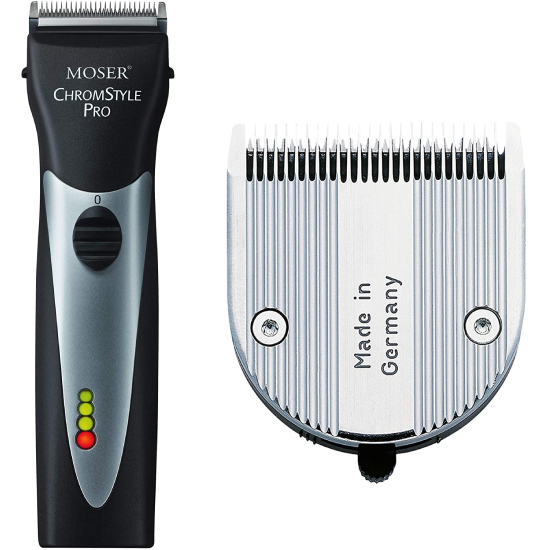 Moser ChromStyle Professional CordCordless Hair Clipper, Black #1871-0181